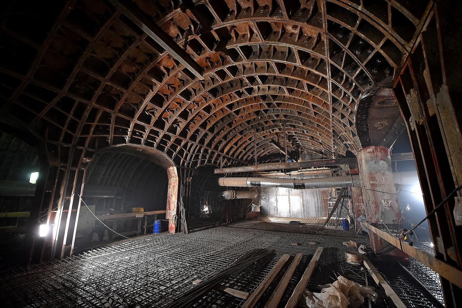 В Москве возобновили строительство «Беломорской»