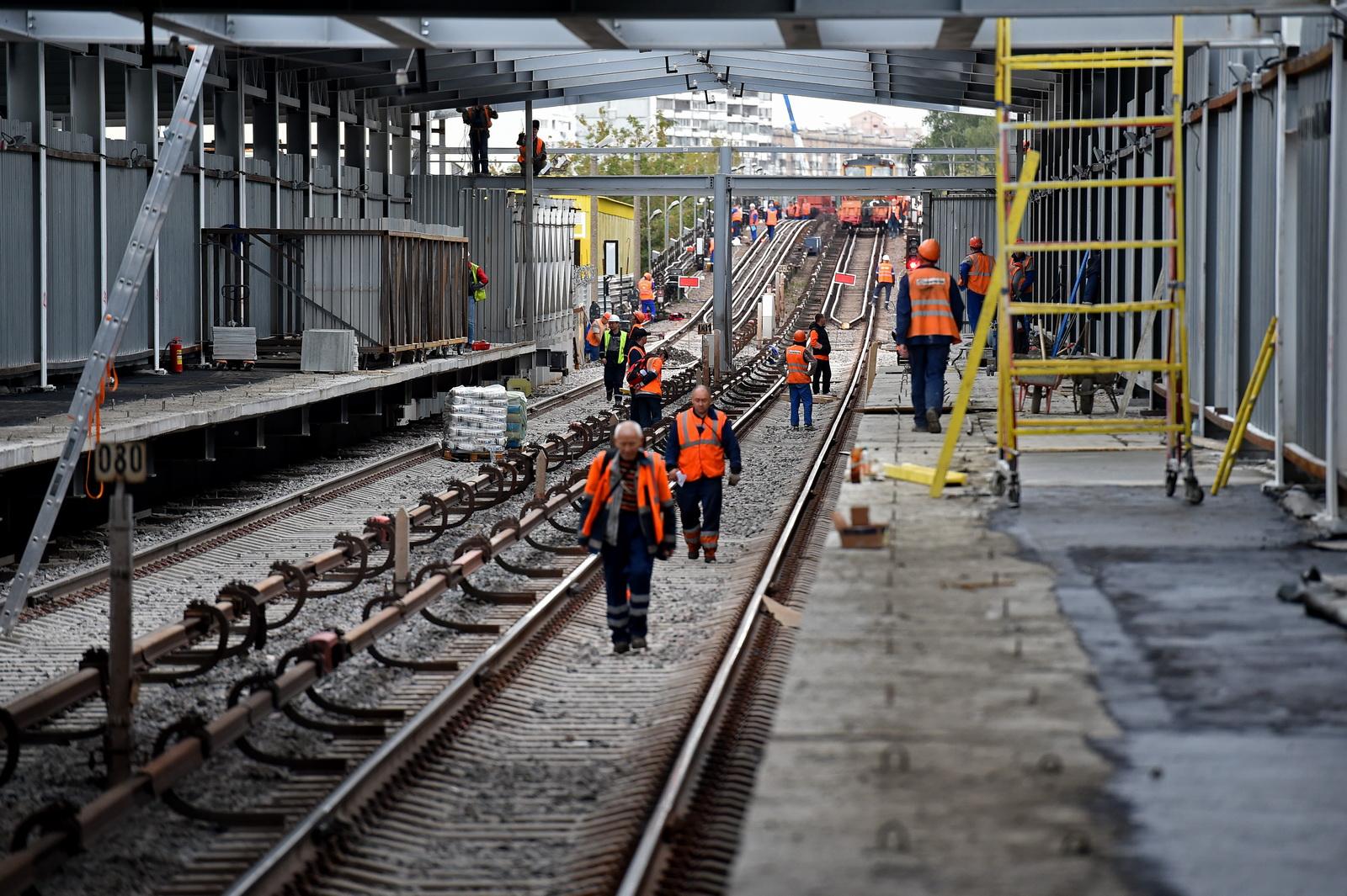 Станция метро «Мичуринский проспект» будет трехуровневой